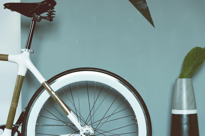 Rower bambusowy z siodełkiem Brooks